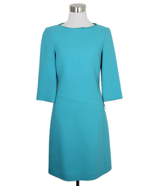 Michael Kors Aqua Wool Dress 1