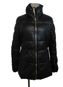Michael Kors Black Nylon Down Puffer Coat 1