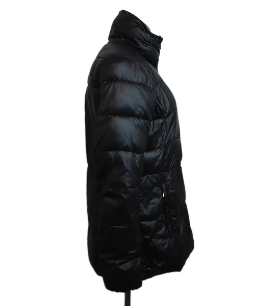 Michael Kors Black Nylon Down Puffer Coat 2