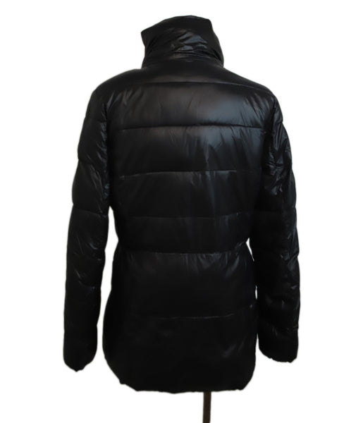 Michael Kors Black Nylon Down Puffer Coat 3
