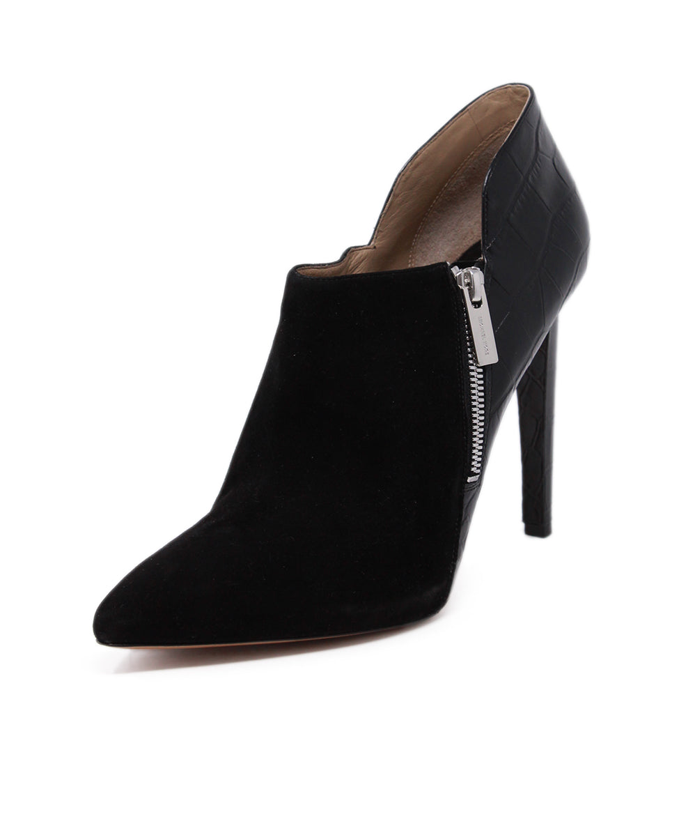 Michael Kors Black Suede Leather Heels 1