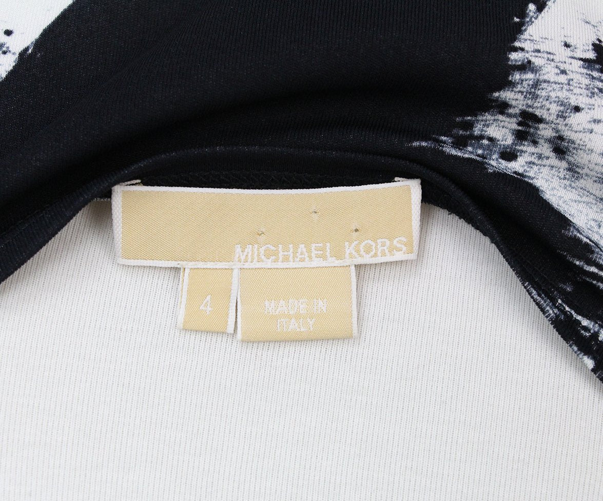 Michael Kors Black White Dress 4