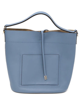 Michael Kors Blue Leather Handbag