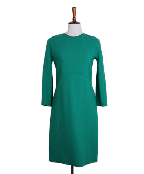 Michael Kors Green Wool Dress 1