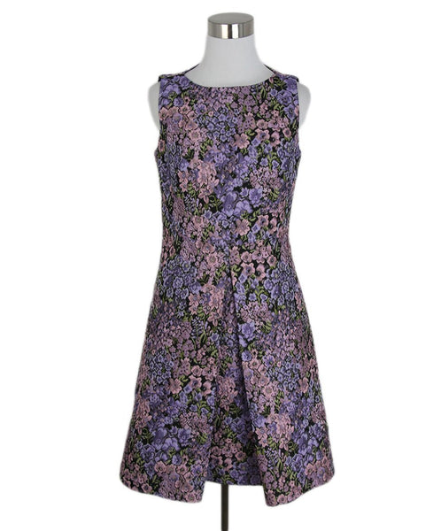 Michael Kors Pink purple floral dress 1