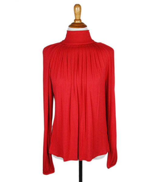 Michael Kors Red Top Sz M