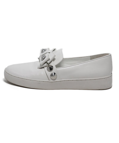 Michael Kors White Sneakers Leather Studs 1
