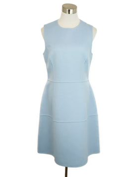Michael Kors Blue Baby Blue Angora Sleeveless Dress 1