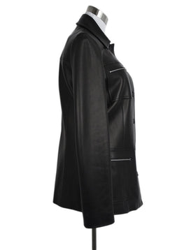 Michael Kors Black Leather Jacket 2