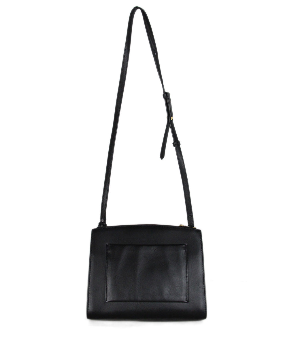 Michael Kors black leather shoulder bag 3