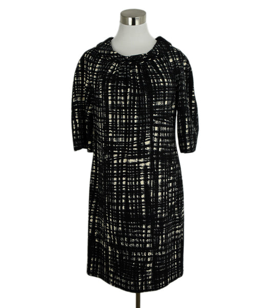 Michael Kors Black White Wool Dress 1