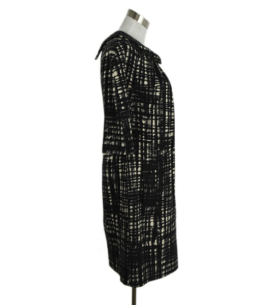Michael Kors Black White Wool Dress 2