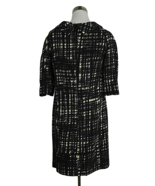Michael Kors Black White Wool Dress 3