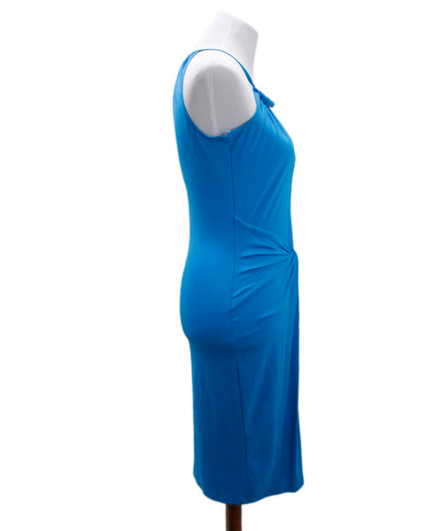 Michael Kors Blue Turquoise Polyester Dress 1