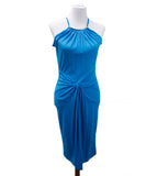 Michael Kors Blue Turquoise Polyester Dress