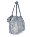 Michael Kors Blue White Leather Handbag 2
