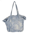 Michael Kors Blue White Leather Handbag 3