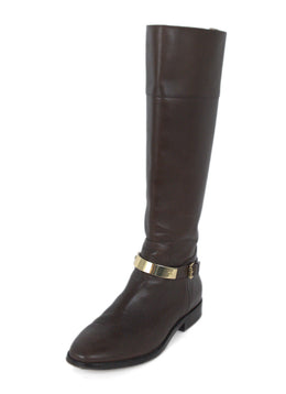 Michael Kors Brown Leather Boots 1