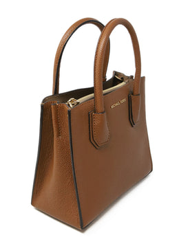 Michael Kors Brown Leather Satchel 2