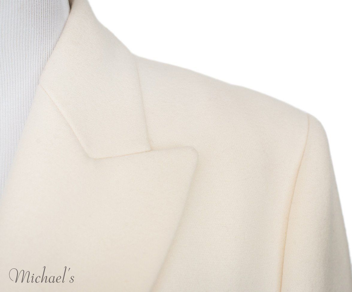 Michael Kors Ivory Wool Coat Sz 14 - Michael's Consignment NYC  - 6