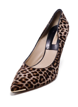 Michael Kors Collection Leopard Fur Heels 1