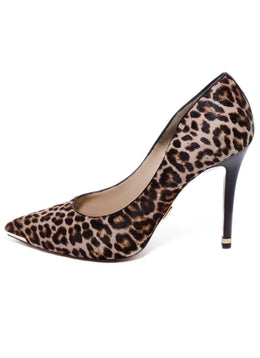 Michael Kors Collection Leopard Fur Heels 2