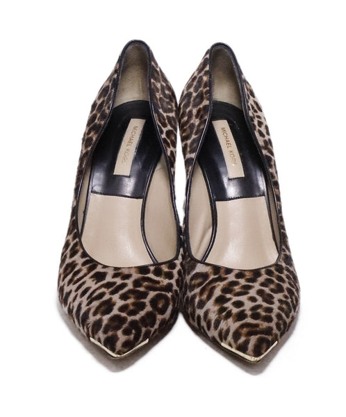 Michael Kors Collection Leopard Fur Heels 4
