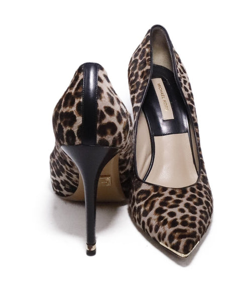 Michael Kors Collection Leopard Fur Heels 3