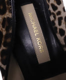 Michael Kors Collection Leopard Fur Heels 6