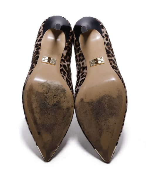 Michael Kors Collection Leopard Fur Heels 5