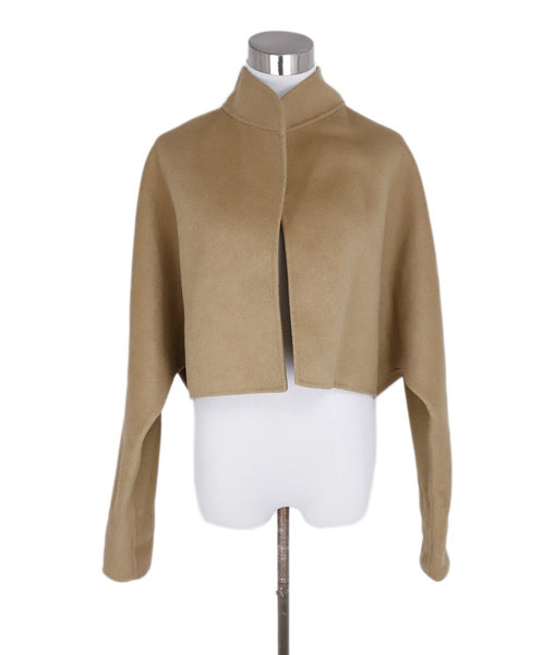 Michael Kors Neutral Camel Cashmere Jacket 1