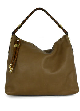 Michael Kors Neutral Tan Leather Handbag 1