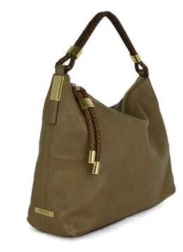 Michael Kors Neutral Tan Leather Handbag 2