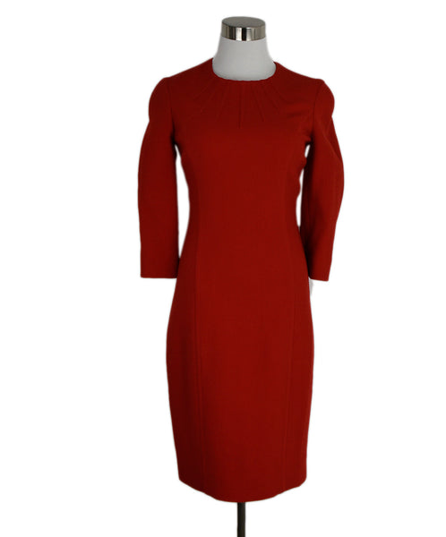 Michael Kors Red Wool Dress 1