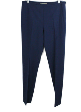 Michael Kors Navy Wool Blue Pants 1