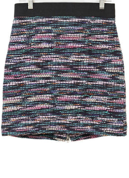 Milly Purple Multi Tweed Skirt
