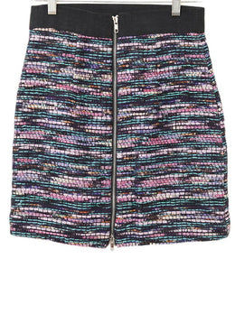 Milly Purple Multi Tweed Skirt 1