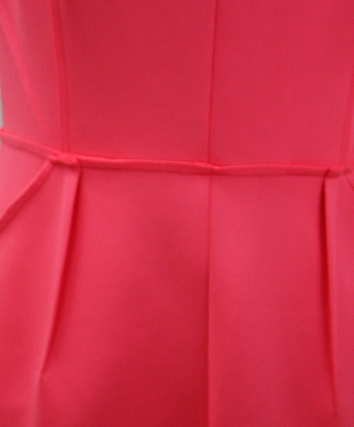 Milly Pink Hot Pink Polyester Dress 5