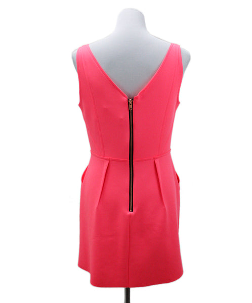 Milly Pink Hot Pink Polyester Dress 2
