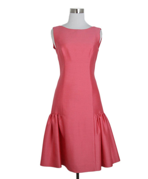 Milly pink wool dress 1