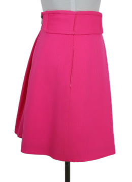 Mini Milly Hot Pink Cotton Skirt 2
