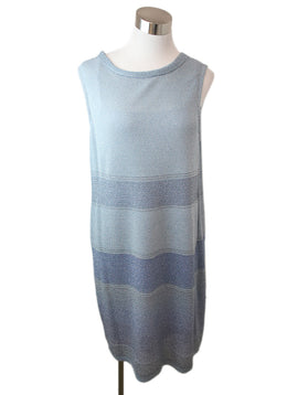 3 PC Missoni Blue Light Blue Silver Lurex Rayon 2
