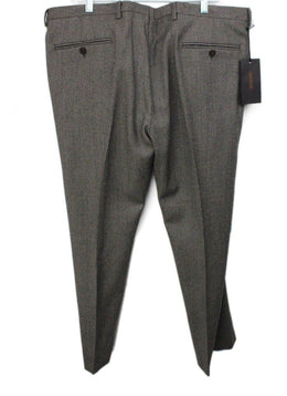 Missoni Black Beige Wool Pants men's 56 1