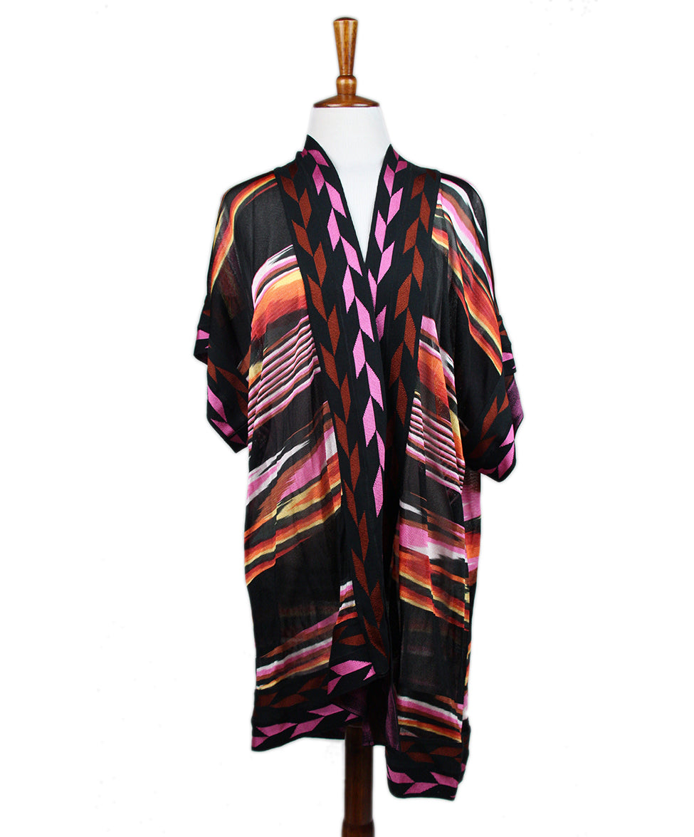Missoni Black Cardigan Sweater 1
