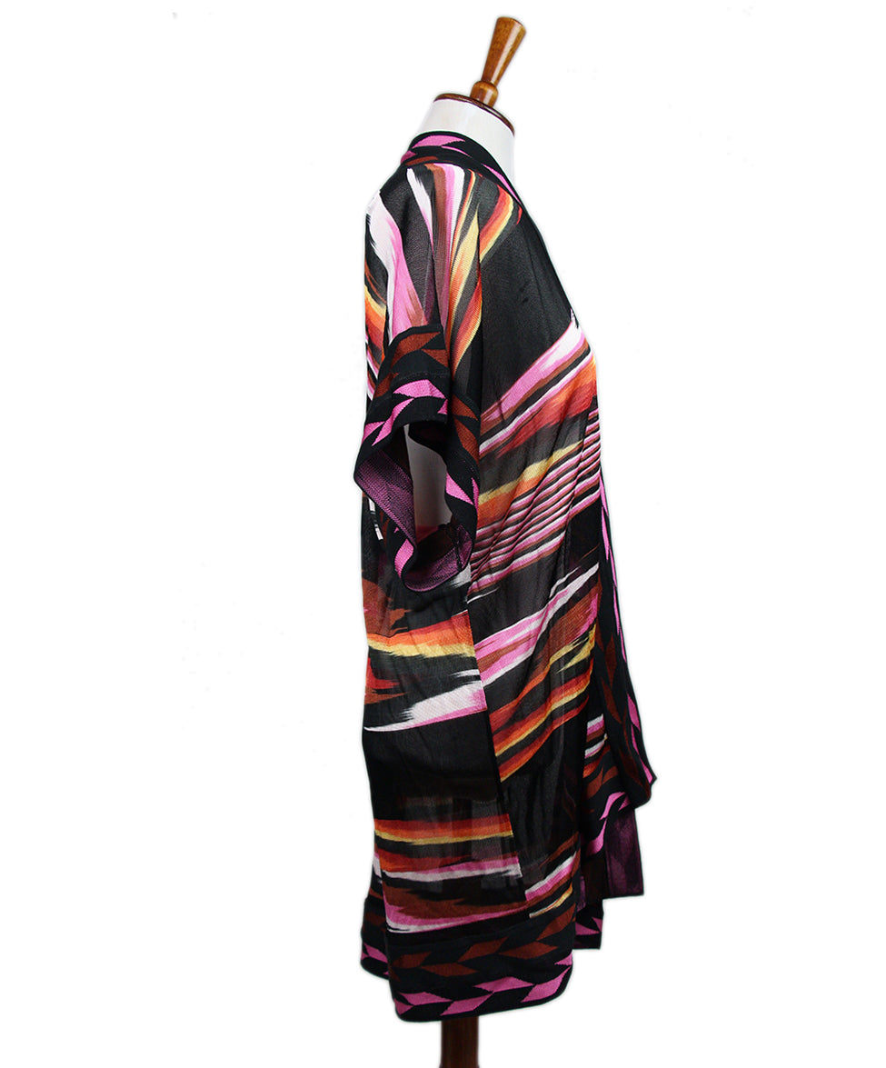 Missoni Black Cardigan Sweater 2