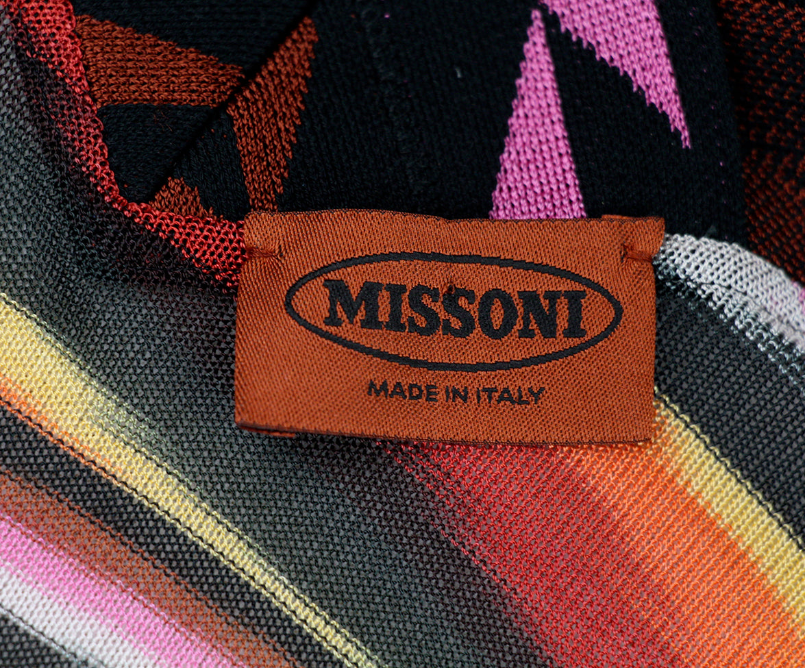 Missoni Black Cardigan Sweater 7