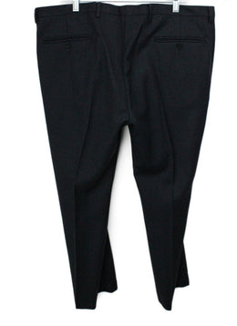 Missoni Black Navy Wool Pants Men's 56 1