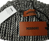 Missoni Black White Knit Wool Hat 4