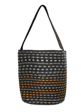 Tote Missoni Black Yellow Straw Handbag 2