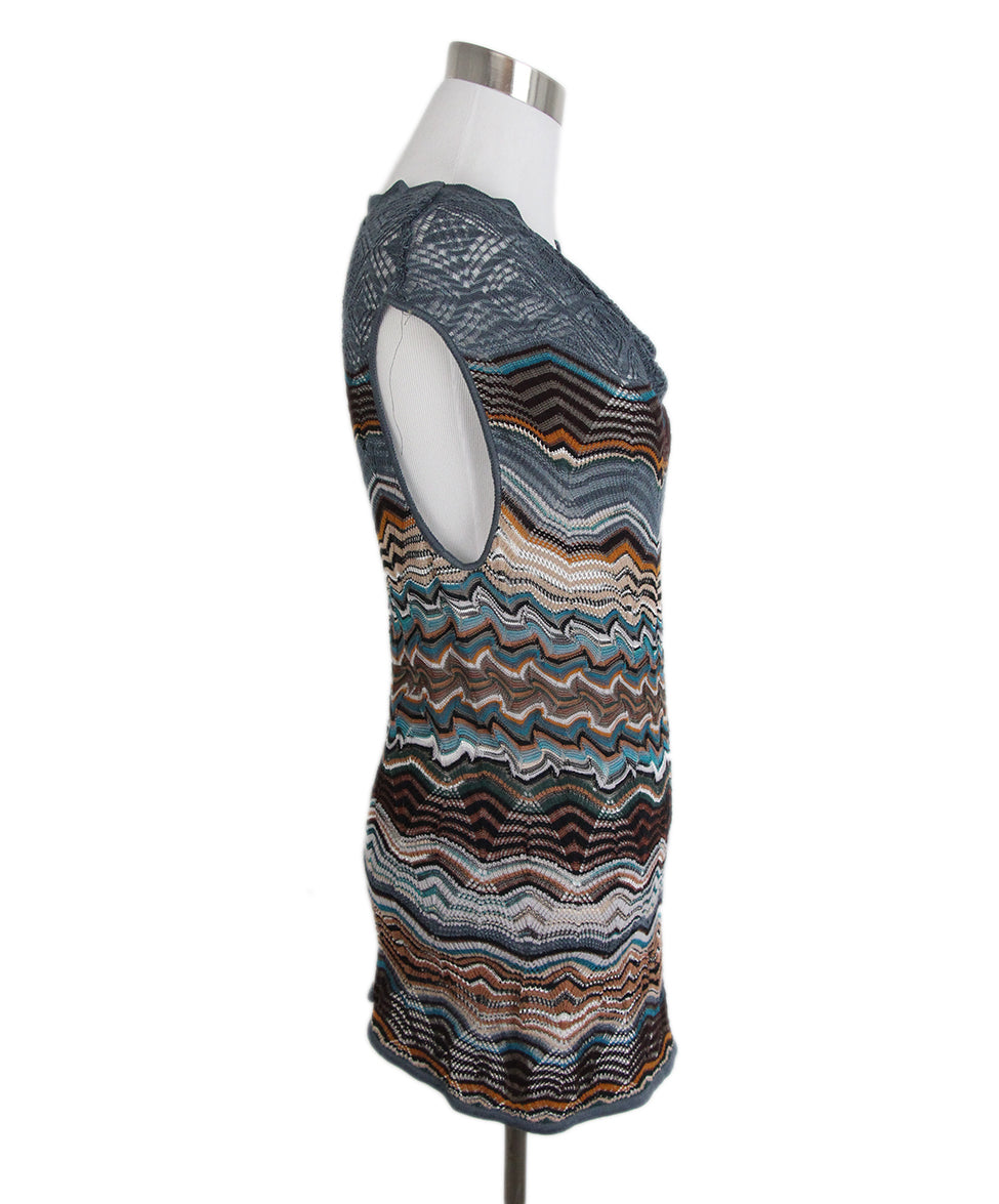Missoni Blue Brown Sweater Set 5